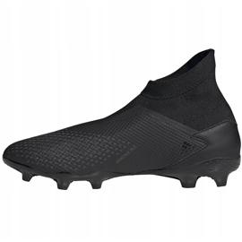 Buty piłkarskie adidas Predator 20.3 Ll Fg czarne EF1645 2