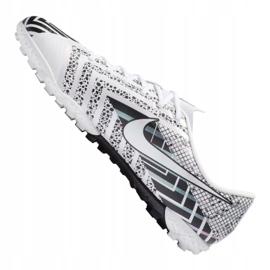 Buty piłkarskie Nike Vapor 13 Academy Mds Tf Jr CJ1178-110 wielokolorowe białe 3