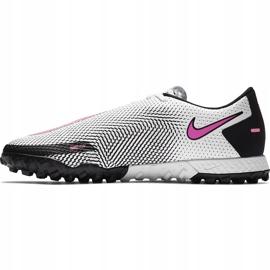 Buty piłkarskie Nike React Phantom Gt Pro Tf CK8468 160 białe białe 2