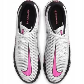 Buty piłkarskie Nike React Phantom Gt Pro Tf CK8468 160 białe białe 1