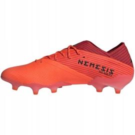 Buty piłkarskie adidas Nemeziz 19.1 Fg pomarańczowe EH0770 2