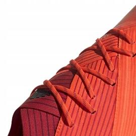 Buty piłkarskie adidas Nemeziz 19.1 Fg pomarańczowe EH0770 3