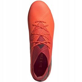 Buty piłkarskie adidas Nemeziz 19.1 Fg pomarańczowe EH0770 1