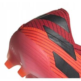Buty piłkarskie adidas Nemeziz 19.1 Fg pomarańczowe EH0770 4