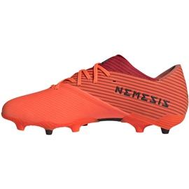 Buty piłkarskie adidas Nemeziz 19.2 Fg pomarańczowe EH0293 2