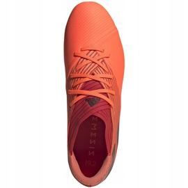Buty piłkarskie adidas Nemeziz 19.2 Fg pomarańczowe EH0293 1