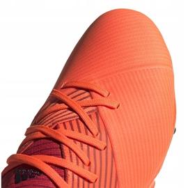 Buty piłkarskie adidas Nemeziz 19.2 Fg pomarańczowe EH0293 3