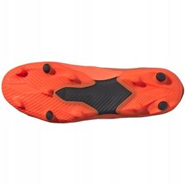 Buty piłkarskie adidas Nemeziz 19.2 Fg pomarańczowe EH0293 6