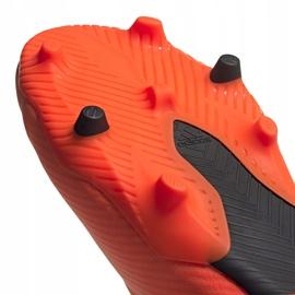 Buty piłkarskie adidas Nemeziz 19.2 Fg pomarańczowe EH0293 5