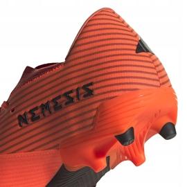 Buty piłkarskie adidas Nemeziz 19.2 Fg pomarańczowe EH0293 4