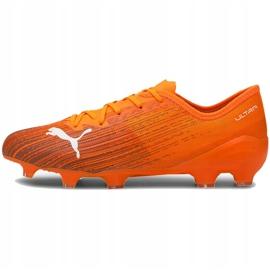 Buty piłkarskie Puma Ultra 2.1 Fg Ag 106080 01 pomarańczowe pomarańczowe 2