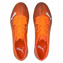 Buty piłkarskie Puma Ultra 2.1 Fg Ag 106080 01 pomarańczowe pomarańczowe 1