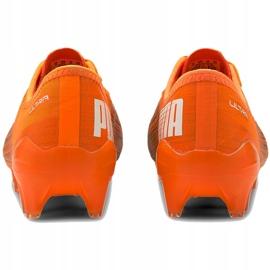 Buty piłkarskie Puma Ultra 2.1 Fg Ag 106080 01 pomarańczowe pomarańczowe 4