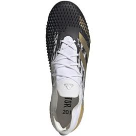 Buty piłkarskie adidas Preadator Mutator 20.1 L Sg FW9181 złoty 1