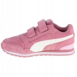 Buty Puma St Runner V2 Sd V Ps Jr 366001-09 pomarańczowe różowe 1