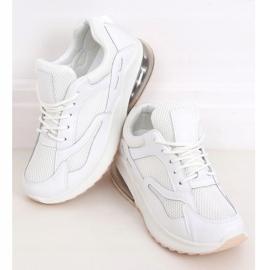 Buty sportowe damskie białe 8271-SP White 1