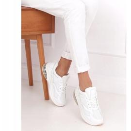 Buty sportowe damskie białe 8271-SP White 2