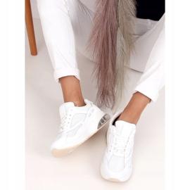 Buty sportowe damskie białe 8271-SP White 3