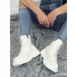 Buty na wysokiej podeszwie białe ID01 White 1