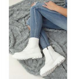 Buty na wysokiej podeszwie białe ID01 White 2