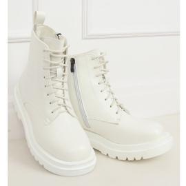 Buty na wysokiej podeszwie białe ID01 White 3