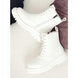 Buty na wysokiej podeszwie białe ID01 White 5
