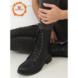Workery damskie czarne 1219B-PA Black 1