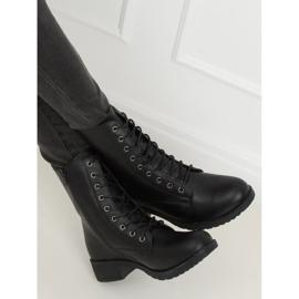 Workery damskie czarne 1219B-PA Black 2