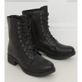 Workery damskie czarne 1219B-PA Black 4