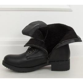 Workery damskie czarne 1219B-PA Black 5