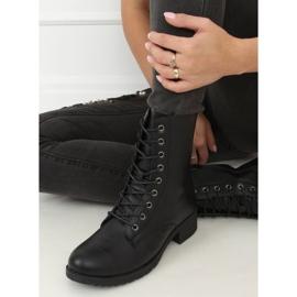 Workery damskie czarne 1219B-PA Black 3