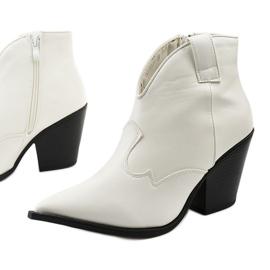 Białe kowbojki damskie Pretender 1