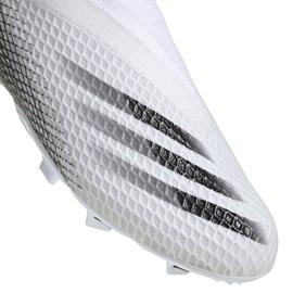 Buty piłkarskie adidas X Ghosted.3 Ll Fg Jr EG8151 wielokolorowe białe 1