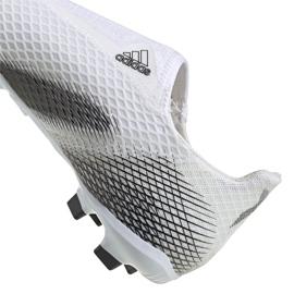 Buty piłkarskie adidas X Ghosted.3 Ll Fg Jr EG8151 wielokolorowe białe 2