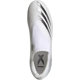 Buty piłkarskie adidas X Ghosted.3 Ll Fg M EG8165 wielokolorowe białe 2