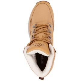 Buty męskie Kappa Sigbo brązowo-beżowe 242890 4150 1