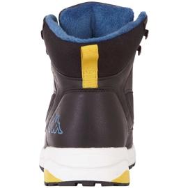 Buty męskie Kappa Sigbo czarno-niebieskie 242890 1164 czarne 3