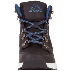 Buty męskie Kappa Sigbo czarno-niebieskie 242890 1164 czarne 4