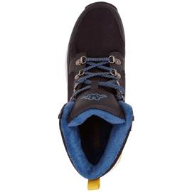 Buty męskie Kappa Sigbo czarno-niebieskie 242890 1164 czarne 1