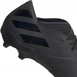 Buty piłkarskie adidas Nemeziz 19.2 Fg czarne F34386 4