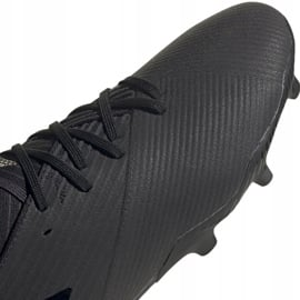 Buty piłkarskie adidas Nemeziz 19.2 Fg czarne F34386 3