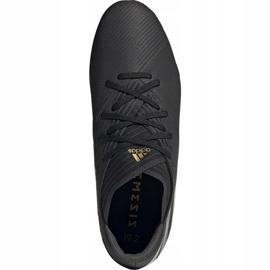 Buty piłkarskie adidas Nemeziz 19.2 Fg czarne F34386 2