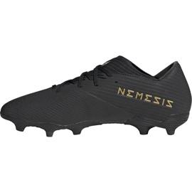 Buty piłkarskie adidas Nemeziz 19.2 Fg czarne F34386 1