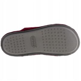 Kapcie Crocs Classic Slipper 203600-60U czerwone 3