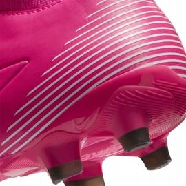 Buty piłkarskie Nike Mercurial Superfly 7 Academy Km FG/MG DB5611 611 różowe różowe 6