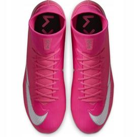 Buty piłkarskie Nike Mercurial Superfly 7 Academy Km FG/MG DB5611 611 różowe różowe 1