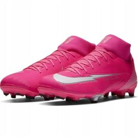 Buty piłkarskie Nike Mercurial Superfly 7 Academy Km FG/MG DB5611 611 różowe różowe 3
