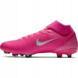 Buty piłkarskie Nike Mercurial Superfly 7 Academy Km FG/MG DB5611 611 różowe różowe 2