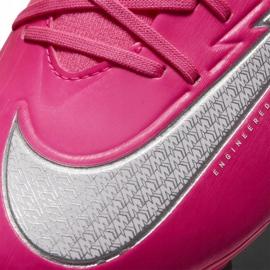 Buty piłkarskie Nike Mercurial Superfly 7 Academy Km FG/MG DB5611 611 różowe różowe 5