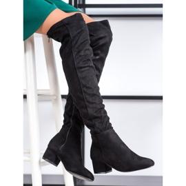 Fashion Czarne Muszkieterki 1